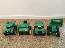 Toy trucks in Kingwood, Texas