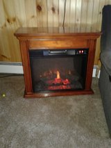 electric fireplace in Watertown, New York