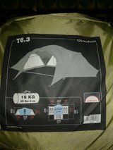 6 person tent in Fort Drum, New York