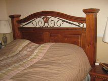 Reduced:  Solid Wood King Size Bedroom Set in Kingwood, Texas