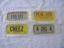 Post Cereal BICYCLE LICENSE PLATES Lot in 29 Palms, California