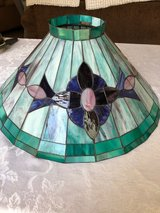 Beautiful stained glass lamp shade in Westmont, Illinois