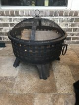 Outdoor fire pit in Katy, Texas