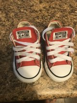 Toddler Red Converse Size 5 in Camp Lejeune, North Carolina