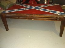 Confederate Flag Coffee Table in Perry, Georgia