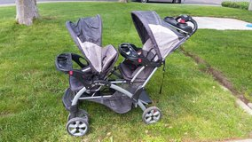 Baby Trend Sit & Stand Double Stroller in Fairfield, California