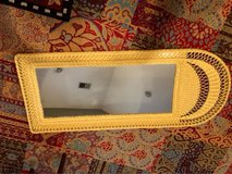 "Beautiful wicker mirror. 54""x21.5. 2.5"" deep. in Beaufort, South Carolina"