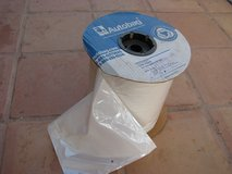 Large roll of 9x11 automatic packaging plastic bags. Clear on one side. Total of 6 in Yucca Valley, California