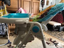 recliner high chair with several high positions in Ramstein, Germany