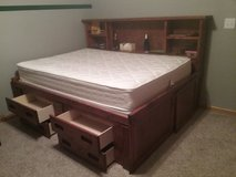 Double bed in Fort Riley, Kansas