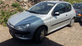 AUTOMATIC 2001 PEUGEOT 206-NEW USAREUR INSPECTION in Ramstein, Germany