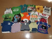 Baby clothes (16 T-shirts) in Okinawa, Japan