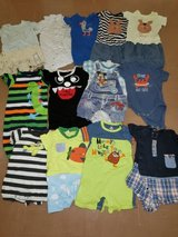 Baby clothes (13 onesies) in Okinawa, Japan