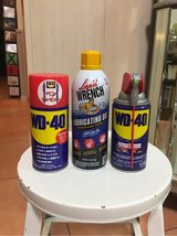 WD40 and other oil in Okinawa, Japan