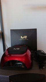 MelodySusie 48 Watt LED Nail Lamp (red)- Mint condition! in Ramstein, Germany