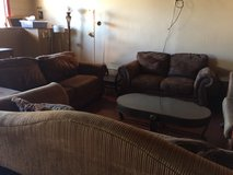 Brown Matching Couch and Loveseat in DeRidder, Louisiana