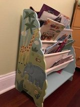 Kids book rack/case, great condition, 2 available, $15/each in Schaumburg, Illinois