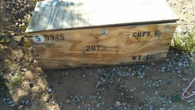 shipping box military in Yucca Valley, California