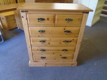 Pine chest of drawers 2 over 4 (6 drawer) in Lakenheath, UK