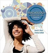 Psychology in Everyday Life, third edition in Nellis AFB, Nevada