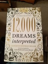 DREAM INTERPRETED BOOK (THICK) in Fort Campbell, Kentucky