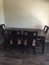 Star Firniture Beautiful Dinning Table w/ Leaf and 8 Chairs in Las Vegas, Nevada