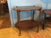 Very nice tea cart 31 inches long 20 1/2 inches wide 29 inches tall in Houston, Texas