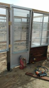 if you have old windows and wood. I can build you a green house in Yucca Valley, California