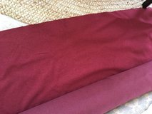 NEW Bolt of Upholstery Fabric from Calico Corners - 16 Yards Red in Naperville, Illinois