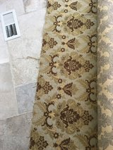 NEW 2-4 yards of Upholstery Fabric - Green and Brown Brocade in Naperville, Illinois
