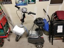 Electric scooter in Alamogordo, New Mexico