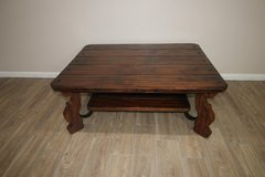 Rustic Wood Coffee Table in CyFair, Texas