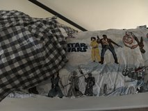 "Pottery barn kids ""The last Jedi"" twin size bedding in Camp Lejeune, North Carolina"