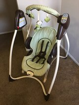 baby swing and bouncer in Roseville, California
