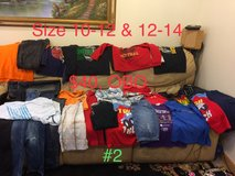 boys clothes lot 02, size 10, 12, and 14 in Okinawa, Japan