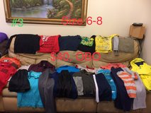boys clothes lot 03, size 6 and 8 in Okinawa, Japan