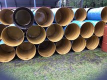Burn barrels in Camp Lejeune, North Carolina