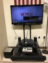 "42"" Sony HDTV with tv stand in Cherry Point, North Carolina"