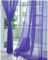 Window curtain with white curtain rod in Bolingbrook, Illinois