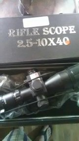 Used Riffle Scope 2.5-10x40 in 29 Palms, California