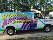 Bounce Round Rental $120 waterslide in Camp Lejeune, North Carolina