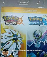 Pokèmon Sun and Moon Nintendo 3DS official Guide in Hinesville, Georgia