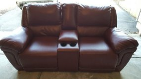 Reclining loveseat/ gaming couch in Yorkville, Illinois