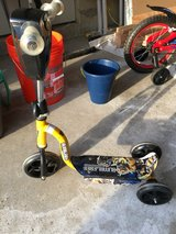 Toddler Bumblebee Scooter - 3 wheel in Bartlett, Illinois