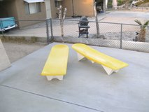 Mid Century Fiberglass Loungers in 29 Palms, California