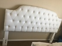 White tufted headboard king size in Colorado Springs, Colorado