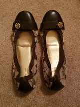 Brand New Brown Coach Flats in Chicago, Illinois