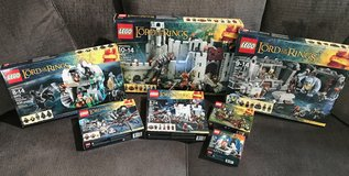 LOTR LEGOS Lord of the Rings LEGO Sets Gandalf Shelob Battle of Helms Deep + in Kingwood, Texas