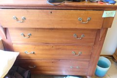 Antique circa 1830's cherry dresser in DeKalb, Illinois
