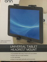 Universal Tablet Headrest Mount in Houston, Texas